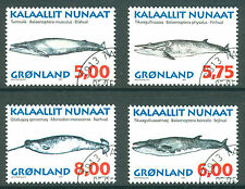 Whales Greenlandic Stamps