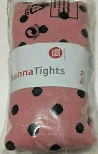 Nwt Hanna Andersson Pink Purple Polka Dots Footed Tights 150/160 12/14 Warm