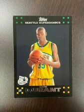 Kevin Durant 2007-08 Topps Rookie Card Black Border #112 RC   INVEST!!