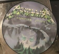 Metallica ‎– Creeping Death lp picture disk first issue no barcode P12 KUT 112