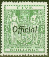 Neuseeland 1943 5s Grün SG0133 V.F Postfrisch