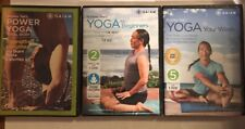 Lot of 8 Rodney Yee YOGA DVD's:Power Yoga,Beginners,A.M Yoga,Daily Yoga