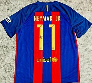 Neymar Jr. Signed Barcelona Jersey Beckett BAS LOA