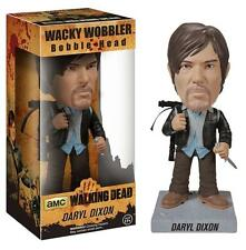 The Walking Dead Biker Daryl Dixon Wacky Wobbler Bobble Head Figure