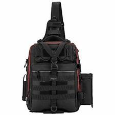Fishing Tackle Gear Storage Bag Outdoor Shoulder Backpack Cross Body Sling Bag