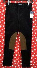 Ralph Lauren label stretch riding jodhpurs pants Juniors Size 8 Corduroy New Nwt