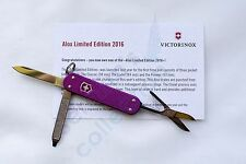 Victorinox Alox Classic 0.6221.L16 Limited Edition 2016 Swiss Army Folding Knife
