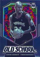 Kevin Garnett 2019-20 NBA PANINI MOSAIC OLD SCHOOL Insert Card #12 Timberwolves