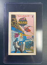 MASK Mini Comic Book #3 Assault on Boulder Hill Vintage Kenner Nice condition