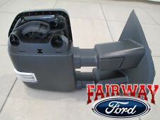 17 thru 20 Super Duty OEM Ford Power Fold Signal Memory Tow Mirror RH PASSENGER