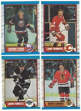 1989/90 O-Pee-Chee OPC Hockey - Finish Your Set - Pick 20 Lot