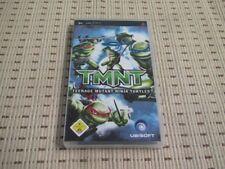 TMNT Teenage Mutant Ninja Turtles pour Sony PSP * Neuf dans sa boîte *