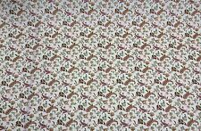 DURALEE CHLOE ROSE GREEN PAISLEY FURNITURE FABRIC BY THE YARD