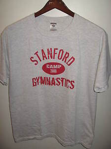 Stanford University Palo Alto California 2009 Gymastic Camp Sports T Shirt Lrg