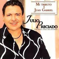 JULIO PRECIADO - Mi Tributo A Juan Gabriel CD 2006 Sony New FACTORY Sealed