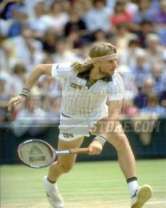 Bjorn Borg backhand headband  8x10 11x14 16x20 photo 622