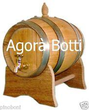 Botte in Castagno da 2 litri , OFFERTA!!!