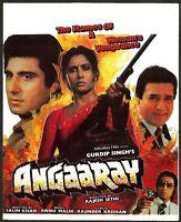 India Bollywood 1986 Angaaray press book Rajesh Khanna Smita Patil Raj Babbar