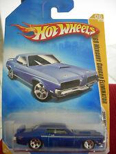 Hot Wheels '69 Cougar Eliminator 2009 New Models Blue