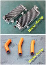 Aluminum Radiator&3PCS Hose KTM 125/144/150/200/250/300 SX/XC/XC-W/EXC/MXC 08-12