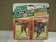 OLDER HOCKEY CARDS 1991- CANADIAN ENGLISH SERIES 1- TROY MURRAY- NEW- L136
