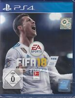 FIFA 18 - PS4 - Sony  Playstation 4 - 2018 Neu & OVP Deutsche Version