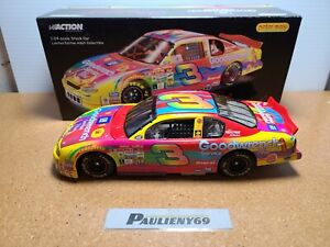 2000 Dale Earnhardt Sr #3 GM Goodwrench / Peter Max Chevy 1:24 NASCAR Action MIB