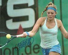 Carina Witthoeft Tennis 8x10 Photo Signed Auto COA