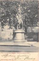 CPA 54 NANCY LA STATUE DE JEANNE D'ARC (dos non divisé)
