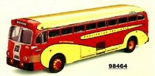 Corgi 98464 Yellow Coach 743 Bus Burlington Trailways (deco wave)