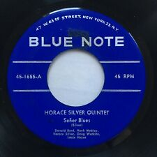 """Horace Silver Senor Blues No Vocals Cool Eyes Blue Note 1655 45 7"""" VG+"""