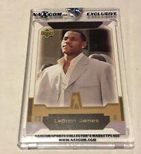 LeBron James Cleveland Cavaliers 2004 Upper Deck Naxcom Exclusive Rookie SP RC