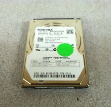 "Toshiba 2.5"" 320 GB 7200 RPM SATA Laptop Hard Drive MK3261GSYN"