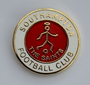 Southampton FC THE SAINTS Quality Gold Plated Enamel Pin Badge