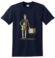 CHARLIE CHAPLIN T-SHIRT/Funny/Joke/Fun/Party/Joker/Gift/Xmas/tshirt/Top/Tee