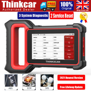 Thinkcar OBD2 Fault Code Reader Scanner Engine EGR DPF Reset Car Diagnostic Tool