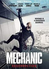 THE MECHANIC: RESURRECTION DVD - JASON STATHAM - JESSICA ALBA