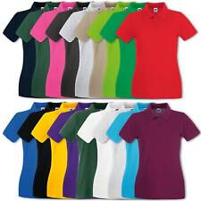 Fruit of the Loom Donna Polo Lady-Fit Premium Polo Tgl XS - XXL
