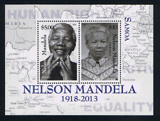 Samoa Nelson Mandela Commemorative Souvenir Sheet Stamp Issue