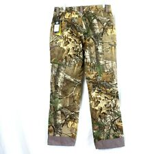Under Armour Wool Hunting Pants Mid Season Stealth Reaper Camo Mens Size 34 x 32
