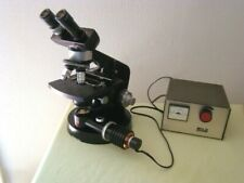 Wild Heerbrugg microscope with Power Supply
