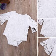 Recién Nacido Bebé Encaje Floral Traje una pieza BODY BODY trajes Ropa BRAGA /