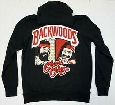 BACKWOODS Hooded Sweatshirt Cheech & Chong Weed Blunt Pullover Hoodie Men's New