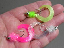 "Wiggletail - Saltwater inshore surf bay ""jiggy"" fly"