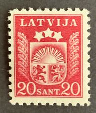 Latvia, Latvija  Essays E21 vw brown-red  RARE MNH/**