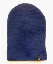 Brixton Heist Beanie Blue Slouch Cuff Hat Cap 100% Acrylic New NWT