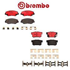 Brembo Front and Rear NAO Ceramic Brake Pad Set for Honda Accord 2.4L 2003-2007