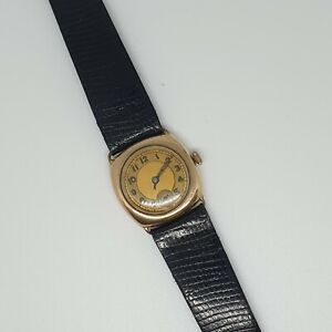 Vintage Watch 9ct Rolled Gold Unbranded