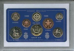 1996 Vintage Coin Set 25th Birthday Birth Year Present Wedding Anniversary Gift