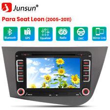 "PARA SEAT LEON 2005-2011 COCHE 7"" 2 DIN RADIO DVD GPS AUTORADIO RDS DVD BT DAB"